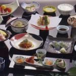 草津温泉ホテルリゾートお食事一例